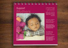 Desktop Calendar Desktop Calendar, Working Mother, Marketing Materials, Printed Materials, Layout Design, The Creator, Workshop, House Design, Concept