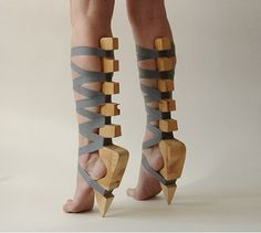 I would wear these on the beach..... but in New York City heck no your feet would be like leather after a walk in the city. LOL