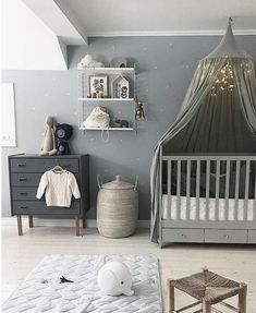 10 Smart Ways to Get Your House Ready for Baby room fugs baby room themes boy room themes girl room wallpaper Baby Room Themes, Baby Room Decor, Girl Themes, Ikea Baby Room, Ikea Baby Nursery, Baby Room Curtains, Babies Nursery, Nursery Rugs, Grey Curtains