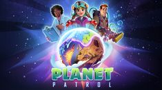 Planet Patrol Game Concept, Music Games, Planets, Feelings, Digital, Movie Posters, Movies, Painting, Art