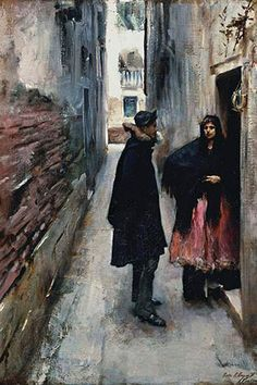 A Street in Venice, by John Singer Sargent
