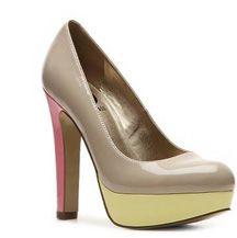 G by Guess Verna Color Block Pump - ShopStyle Platforms Platform Pumps, Workout Wear, Me Too Shoes, Style Me, Christian Louboutin, Peep Toe, Stylish, Platforms, Heels