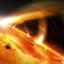 Fototapet - Sun Flares
