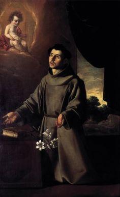The Vision of St. Anthony of Padua | Francisco Zurbarán