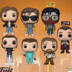 New pop figures