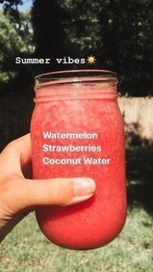 Fruit Smoothie Recipes, Apple Smoothies, Yummy Smoothies, Smoothie Drinks, Drink Recipes, Lunch Smoothie, Protein Smoothies, Recipes Dinner, Clean Eating Snacks