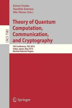 The code book the science of secrecy from ancient egypt to quantum theory of quantum computation communication and cryptography 7th conference tqc 2012 fandeluxe Gallery