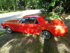Ford: Mustang 1965 ford mustang coupe two owner car