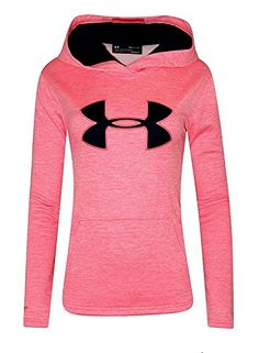 d012f14b27b12a L.e.i. Women s UA Storm Big Logo Hoodie HEATHER Athletic Shirt