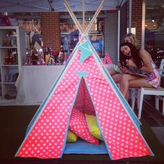 The Sarah: Named after me, because this is my favourite combination so far! This was the first fabric I fell in love with #thesarah #zeeandfriends #teepee