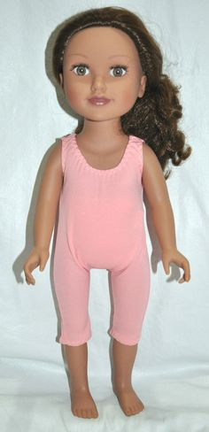 American Girl Doll Our Generation Journey Girl 18  Dolls Clothes Pink Unitard $10.00 from Sew Nice Dolls Clothes
