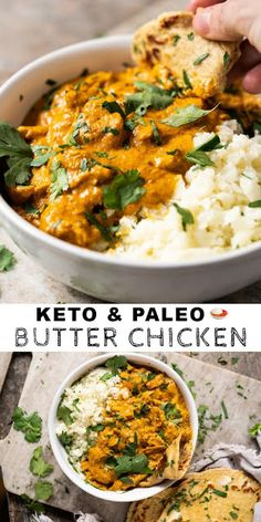 Paleo Low Carb 038 Keto Butter Chicken keto lowcarb paleo glutenfree Paleo Low Carb 038 Keto Butter Chicken keto lowcarb paleo glutenfree Source by Keto Foods, Healthy Low Carb Recipes, Ketogenic Recipes, Low Carb Keto, Diet Recipes, Slimfast Recipes, Paleo Keto Recipes, Paleo Food, Paleo Dessert