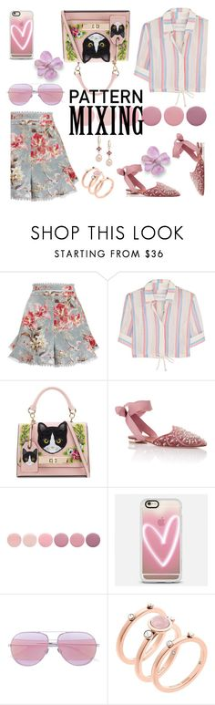 """""""Untitled #759"""" by m-jelic ❤ liked on Polyvore featuring Zimmermann, Solid & Striped, ALDO, Aquazzura, Deborah Lippmann, Casetify, Christian Dior, Michael Kors and Saks Fifth Avenue"""