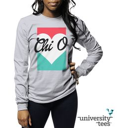 Love you like | Chi Omega | Made by University Tees | www.universitytees.com