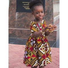 African Children, African Girl, Kids Girls, Baby Kids, Matching Outfits, Printing On Fabric, Size Chart, Creativity, Girls Dresses