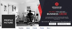 Corporate Facebook Cover #Corporate, #Facebook, #Cover Media Web, Facebook Banner, File Organization, Facebook Timeline Covers, Business Brochure, Getting Things Done, Lorem Ipsum, Yellow, Blue
