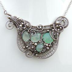 Seafoam Necklace - Mermaid Amulet   by Samantha_Braund