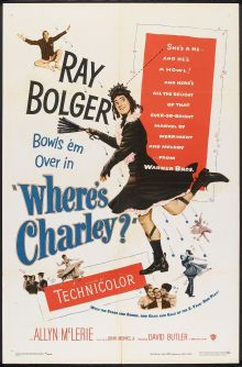 Where's Charley? - UK (1952) Director: David Butler