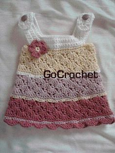 Crochet Baby Dress by sweet.dreams
