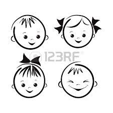 baby cartoon faces clip art and svg files pinterest clip art