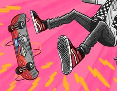 """Check out new work on my @Behance portfolio: """"Vans"""" http://be.net/gallery/54485957/Vans"""