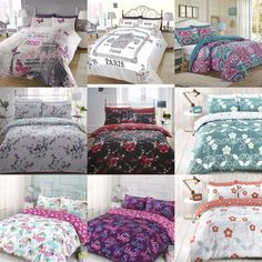 New Modern Designs Duvet Cover Sets with Pillow Cases Bedding Set