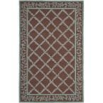 Chelsea Brown/Blue 5 ft. 3 in. x 8 ft. 3 in. Area Rug