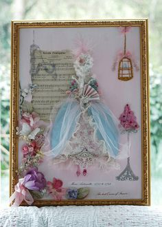 Marie Antoinette in the frame ~ commission | Flickr - Photo Sharing!