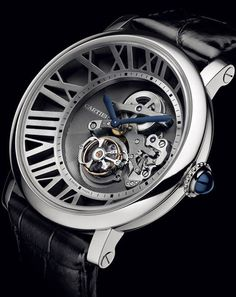 "Cartier ""Cadran Love Tourbillon"" Ltd. Edition"