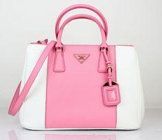 prada black clutch purse - Prada BN1903 Off-White Leather Tote #Bags UK   cheap-pradabags ...