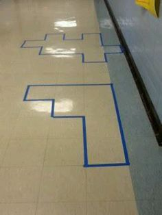 Great idea to teach area & perimeter
