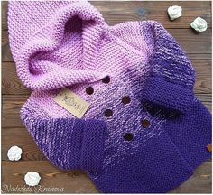 Knitting For Kids, Easy Knitting, Crochet For Kids, Knitting Patterns, Knit Baby Sweaters, Boys Sweaters, Victorian Coat, Baby Boy Cardigan, Baby Coat