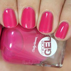 Sally Hansen Miracle Gel Tipsy Gypsy | Boho Chic Collection | Peachy Polish #pink