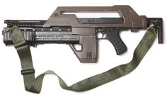 """Remember, smart, controlled bursts""    M41A Pulse Rifle (Colonial Marines issue from Aliens)"
