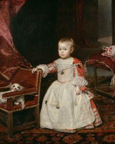 Diego Velázquez. El infante Felipe Próspero. 1659. Museo de Viena.