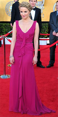 Dianne Agron (at the 2012 Screen Actors Guild Awards)