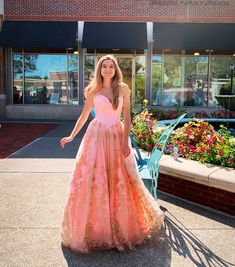 Pink princess vibes 🌸💕✨ Want a dress to stand out of the crowd for hoco court? This. Is. It. Thanks @SherriHill for making this BEAUTY of a dress! 📞 770-977-8916 My.bravurafashion.com Wedding • Mother of the Bride + Groom • Homecoming + Homecoming Court • Bridesmaid • Flower Girl • Evening • Black Tie • Pageant • Formal Accessories • Bridal Veils + Accessories • Tuxedo Rentals • and so much more 📍 4475 Roswell Road, Marietta, Georgia 30062 Miss America Contestants, Sherri Hill Prom Dresses, Bridesmaid Flowers, Pink Princess, Black Tie, Pageant, Mother Of The Bride, Bride Groom, Ball Gowns