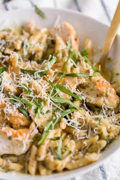 WATCH OUR STEP-BY-STEP VIDEO ON HOW TO MAKE THIS DELICIOUS CREAMY PESTO CHICKEN PASTA! This Creamy Pesto Chicken Pasta is a delicious and easy meal idea.  Ready for a little story? Back in my college days, I didn't think I could cook.  I once accidentally put a tablespoon of salt in a batch of homemade...Read More