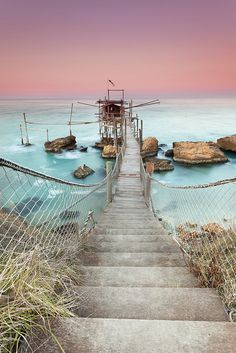 A Postcard from Punta Torre   ::   Costa dei Trabocchi, Rocca San Giovanni (CH)  ::  By ToИio