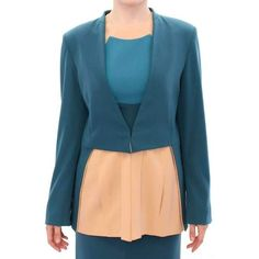 CO TE Blue stretch blazer jacket      CO TE Gorgeous brand new with tags, 100% Authentic CO TE exclusive blazer. Best craftsmanship and a work of art. Model: Blazer Color: Blue, Beige One hook closu https://www.mymallmetro.com/products/co-te-blue-stretch-blazer-jacket?utm_campaign=crowdfire&utm_content=crowdfire&utm_medium=social&utm_source=pinterest