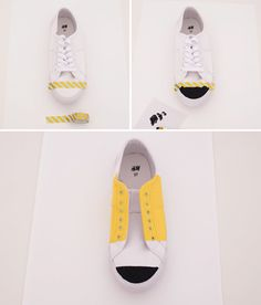 Go Back to School with These Easy DIY Pencil Sneakers