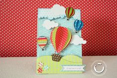 The best trip of my life by bbscraps - Cards and Paper Crafts at Splitcoaststampers Baby Boy Cards Handmade, Greeting Cards Handmade, Die Cut Cards, Pop Up Cards, Ballon Crafts, Scrapbook Cards, Scrapbooking, Fathers Day Cards, Funny Cards