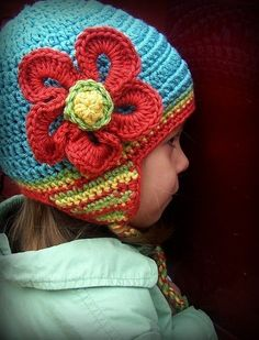 Love the colors in this hat. Just made my own version!