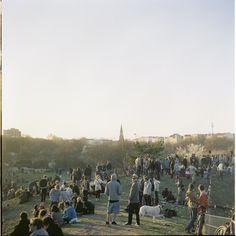 Im Sommer tümmeln sich fast jeden täglich Musikliebhaber im Görlitzer Park (Music, openair, Electro, Dance, Chillout, Feierabend, to do, hipster) >>Open air at Görli (Conor Clarke)