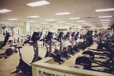 Campus gym is at student's disposal throughout the year.