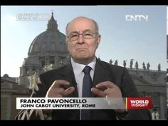 President Pavoncello of John Cabot University speaks on China's CCTV English on Italian Elections 2013
