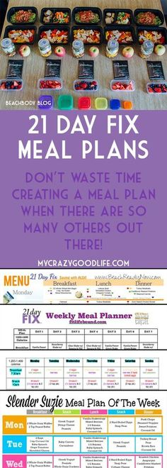 Grocery List Planning Pad, 6\ - 21 day fix spreadsheet
