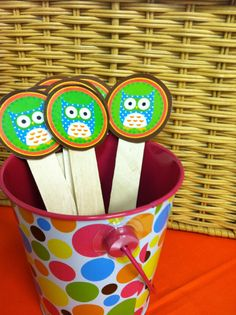 Owl+Classroom+Theme+Ideas | Rookie Teacher Chronicles. Use for equity sticks