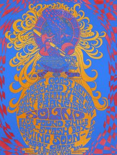 """Rock-band manager Matthew Katz promoted shows in Seattle as """"San Francisco Sound."""" Unlike at Eagles Auditorium, posters such as this one by ..."""