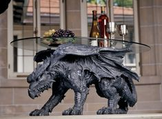 50 Dragon Home Decor Accessories To Give Your Castle Medieval Appeal - http://www.assessmyhome.com.au/50-dragon-home-decor-accessories-to-give-your-castle-medieval-appeal/   Are you looking to embrace a medieval theme for your garden or interior? Attractive dragon-themed decor isn't exactly a common find – but this post compiles 50 of the most useful, unique, or simply beautiful dragon decorations we could locate. It's all here! There's something ... htt